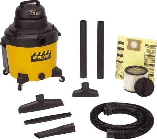 Premier Industrial Wet/Dry Vacuum 16 Gal