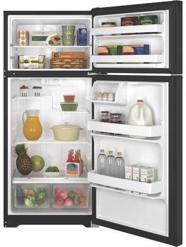 Premier Ge 16.6 Cuft Top Freezer Refrigerator