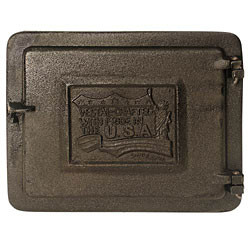 """Cast Iron Clean-Out Door 8"""" X 10"""" by Woodeze"""