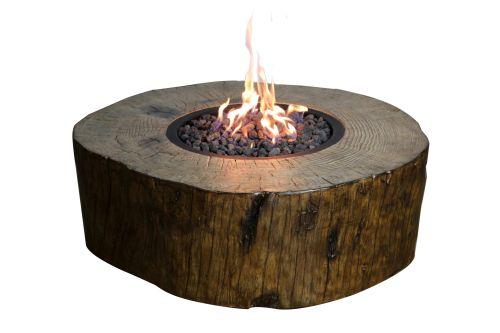 Elementi Eco-Stone Burning Stump Fire Pit