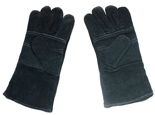 Heat-Resistant Leather Stove & Fireplace Gloves by Boone Hearth