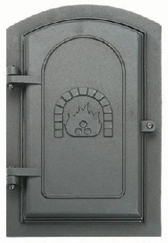 8'' x 12'' Cast Iron Clean-Out Door
