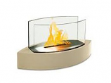 Anywhere Tabletop Fireplace-Lexington Beige