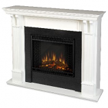 Ashely Electric White Fireplace