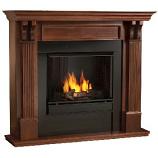 Ashley Gel Fuel Mahogany Fireplace