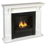 Ashley Gel Fuel White Fireplace
