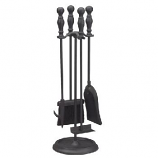"""24""""H 5 Piece Tool Set with Ball Handle in Black"""