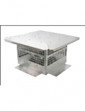 Homestyle Direct Vent 13 Inch x 13 Aluminum Cap HS-DV4658-1313