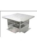 "HS-DV58-1313- Aluminum Homestyle Direct Vent Cap 13x13 Body- 5""-8"""