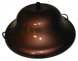 HPC 44 Inch Copper Finish Round Aluminum Firepit Cover