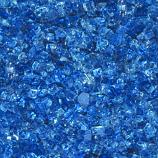 HPC 0.25 Inch Arctic Blue Decorative Fire Pit Glass- 10LB Bag