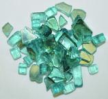 HPC 0.25 Inch Azuria Reflective Decorative Fire Pit Glass- 10LB Bag
