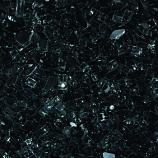 HPC 0.25 Inch Black Decorative Fire Pit Glass- 10LB Bag