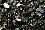 HPC 0.25 Inch Black Reflective Decorative Fire Pit Glass- 10LB Bag