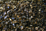 HPC 0.25 Inch Bronze Reflective Decorative Fire Pit Glass- 10LB Bag