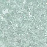 HPC 0.25 Inch Clear Decorative Fire Pit Glass- 10LB Bag