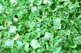 HPC 0.25 Inch Evergreen Reflective Decorative Fire Pit Glass- 10LB Bag