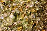 HPC 0.25 Inch Gold Reflective Decorative Fire Pit Glass- 10LB Bag
