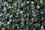 HPC 0.25 Inch Gray Reflective Decorative Fire Pit Glass- 10LB Bag
