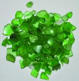 HPC 0.25 Inch Light Green Decorative Fire Pit Glass- 10LB Bag