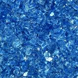 HPC 0.25 Inch Pacific Blue Decorative Fire Pit Glass- 10LB Bag