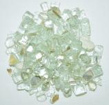 HPC 0.25 Inch Platinum Decorative Fire Pit Glass- 10LB Bag