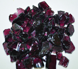 HPC 0.25 Inch Purple Decorative Fire Pit Glass- 10LB Bag