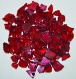 HPC 0.25 Inch Red Decorative Fire Pit Glass- 10LB Bag