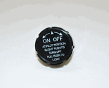 HPC Black Valve Knob for Safety Pilot Kit