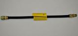 HPC 12 Inch Standard Capacity Black Stainless Steel Flex Line