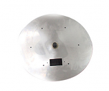 HPC 18 Inch Stainless Steel Flat Round Firepit Pan