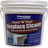 "Chimney Saver Paint ""N"" Peel Fireplace Cleaner"