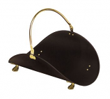 Brass Plated And Black Basket