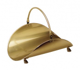 Antique Brass Plated Basket
