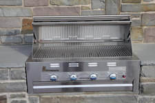 Lazy Man Barbecue Built in Grill- Natural Gas Model
