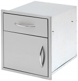"""Cal Flame 18"""" Door and Drawer Combo"""