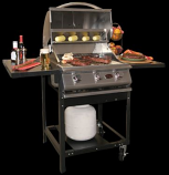 A La Cart BBQ CART ONLY - For Any Cal Flame 3 to 5 Burner Grill Head (SOLD SEPARATELY)