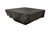 HPC Rectangle Vinyl Cover for Fire Pit Enclosures - Pull String