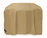 60-inch Cover for Grill Carts with Velcro Tabs - Khaki