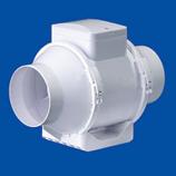 """8"""" Mixed Flow In-Line Fan - 520 CFM - White"""