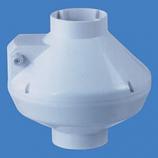 "5"" Centrifugal Fan Plastic - 221 CFM-White"