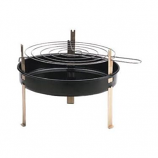 "12"" Round Table Top Barbecue Grill by Marsh Allen"
