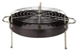Kay Home Products 11 in. Tabletop Charcoal Grill