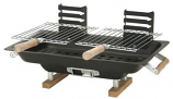 "17"" x 10"" Steel Tabletop Hibachi Grill by Marsh Allen"