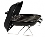 Marsh Allen 30003 14-Inch Square Tabletop Charcoal Grill