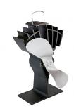 Caframo Limited Ecofan Ultrair, Black with Nickel Blade