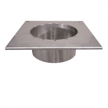 """16"""" Stainless Steel Chimney Adapter"""