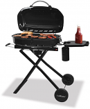 Uniflame Tailgating Portable Outdoor Grill with Stainless Steel Burners
