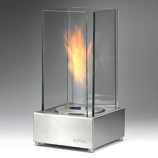 Eco-Feu Cartier Stainless Steel Bio-Ethanol Tabletop Fireplace