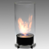 Eco-Feu Juliette Gloss Black Bio-Ethanol Tabletop Fireplace